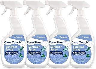 Care Touch Value Pack 4 x 500ml Sanitiser Sprays