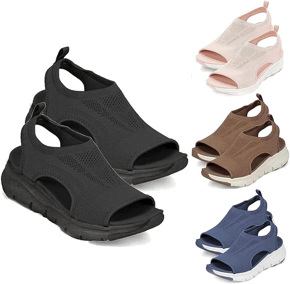 2021 Summer Washable Slingback Orthopedic Slide Sport Sandals for Women