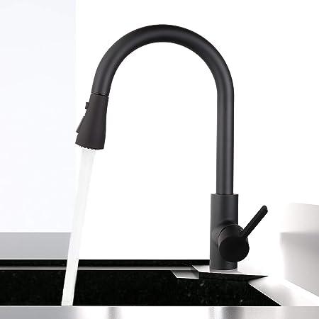 montaje en pared 1# grifo de lavabo de agua fr/ía Grifo monobloque de cromo con rotaci/ón de 360/° para grifo de cocina As Picture Show flexible universal para cocina