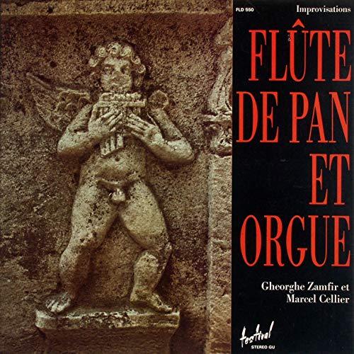 Gheorghe Zamfir et Marcel Cellier - Improvisations Flûte De Pan Et Orgue - Disques Festival - FLD 550