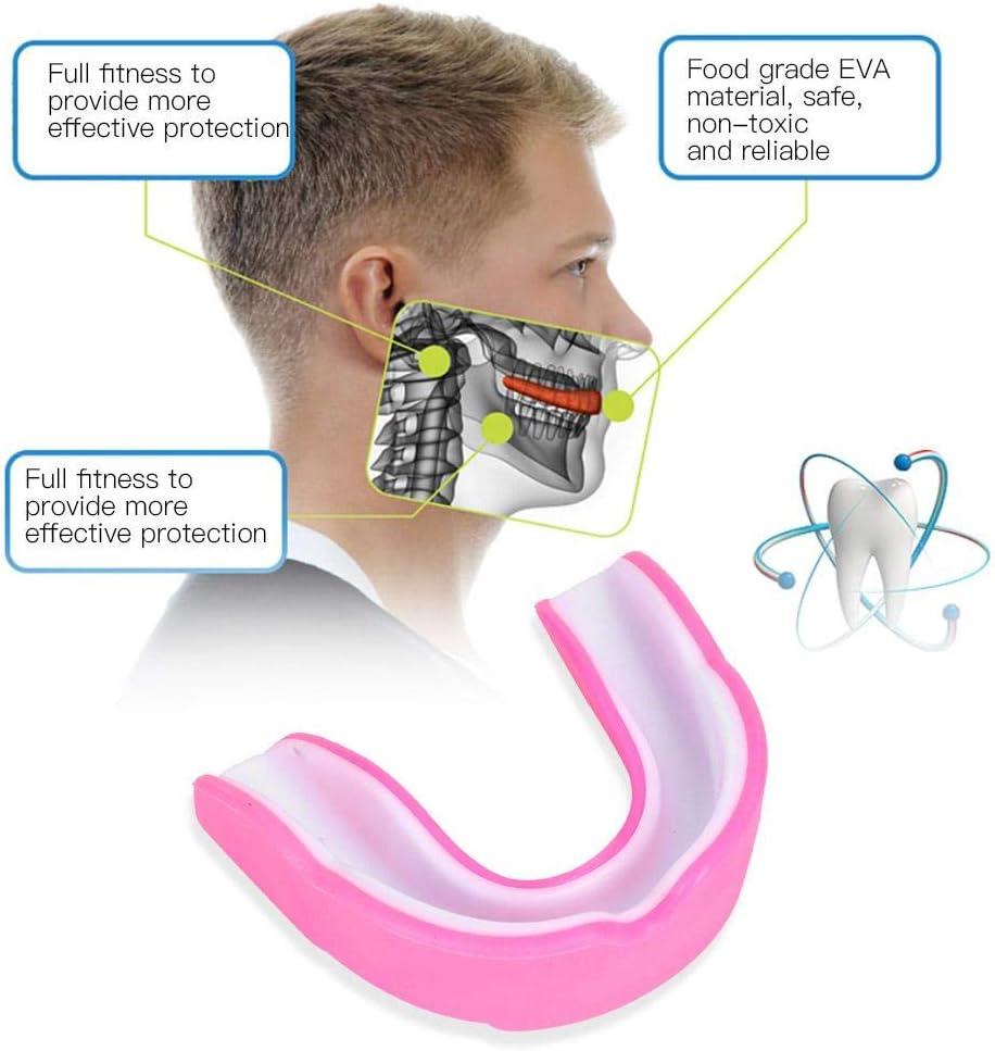 Fafeims EVA Sports Teeth Guard Adult Mouth Protector Mouthguard for Boxing Taekwondo Combat