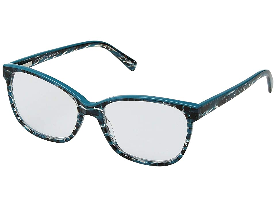 eyebobs Verna (Black/Turquoise/Turquoise Top) Reading Glasses Sunglasses