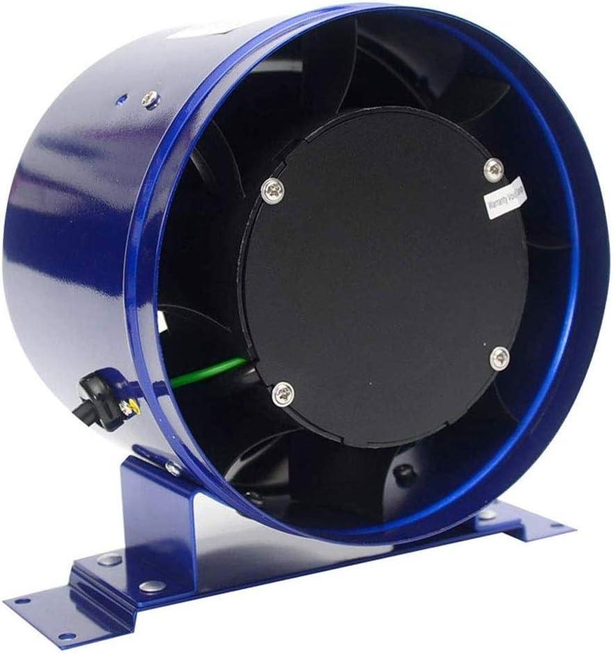 YCZDG Ventilation Fan - Sacramento Mall Metal OFFer Circular 6-inch Powerful Duct