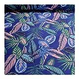 Stoff am Stück Stoff Baumwolle Polyester kobaltblau
