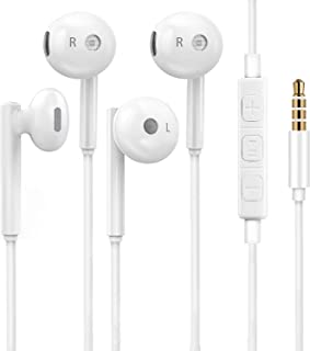 Heren 3.5mm in-Ear Wired Noise Cancellation Earbuds/Earphones/Headphones with Remote & Micphone Compatible with iPhone 6 P...