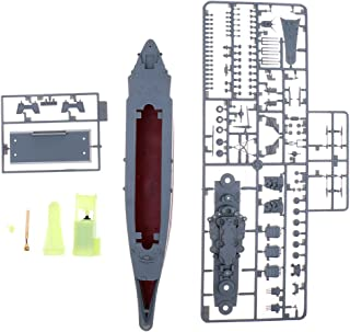 IPOTCH Yamato Battleship 1940 Navy RC Model Ship 1/700 Scale Toys Decoraciones para El Hogar