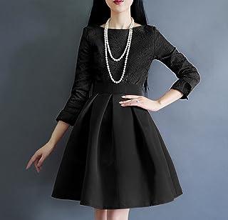 Luouse スイングパーティードレス フォーマル イブニングドレス カジュアル ドレス