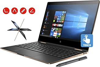 HP Spectre x360 13t Ultra Light Convertible 2-in-1 Laptop (Intel 8th gen i7-8550U Quad Core, 16GB RAM, 256GB SSD, 13.3