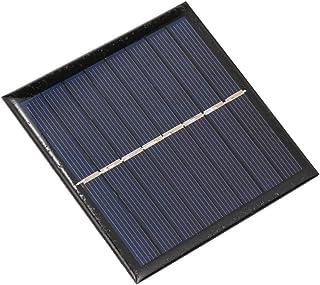 Benkeg Zonnelader,Smart Battery Carger 1W / 4V zonnelader voor 1,2 V AA oplaadbare batterij Polykristallijn epoxy zonnepaneel