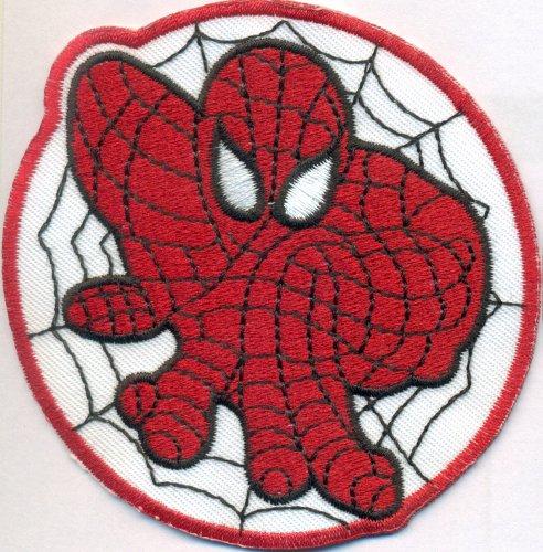 Spider Man Spiderman Spinnennetz Kletterer Climbing Kostüm Aufnäher Patch