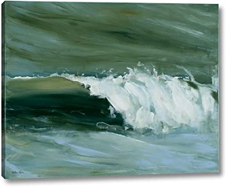 Amazon Com Wave Ii By Melissa Lyons 24 X 30 Gallery Wrapped Canvas Wall Art Print Ready To Hang Posters Prints