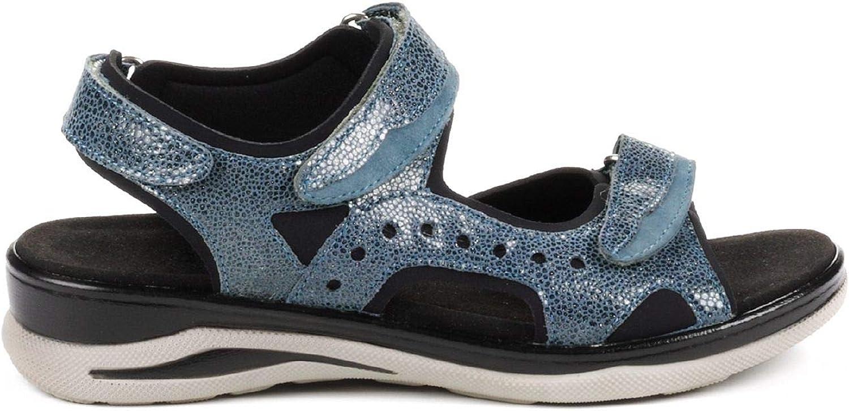 Avena Damen Damen Hallux-Trekking-Sandale Blau 42  bis zu 80% sparen