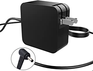 Portable Slim AC Charger for Asus X553M X553S X540S UX330UA UX305 L402wa-eh21 Q302L Q304U Q504U Taichi 21 Taichi 31 Laptop Power Supply Adapter Cord (Foldable Plug) 45W 33W