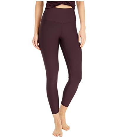 ALO High-Waist Airlift Capri (Oxblood) Women