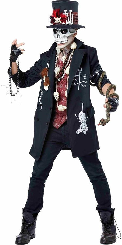 Adult Voodoo Dude Fancy dress costume gree