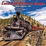 Colorado Narrow Gauge Railroads 2019 Wall Calendar