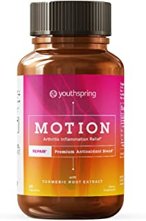 Arthritis Inflammation Relief - Joint Support, Anti-inflammatory, Antioxidant with Turmeric Root, Ginger Root, Masson Pine Bark Extract for Healthy Joints and a Day Full of Motion