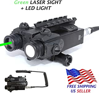 Sniper FL2000 Tactical Laser Sight + 200LM LED Light Combo with Pressure Cord Switch and Quick Release Mount