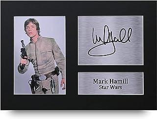 HWC Trading Mark Hamill A4 Sin Marco Regalo De Visualización De Fotos De Impresión De Imagen Impresa Autógrafo Firmado por Star Wars Los Aficionados Al Cine