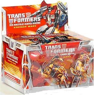 Transformers 3D Battle Card Game: Energon Wars Booster