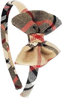 Cerchietto per capelli bambina fatto a mano in tessuto Tartan Made in Italy