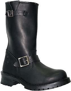 Grinders nouveau King Cs Noir Bottes en cuir 20 Oeillets Combat Unisexe Punk Boot