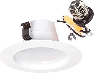 "FEIT Electric Enhance LED Retrofit Kit Recessed Light, 4"" 75W Equivalent Natural Daylight (5000K) (LEDR4HO/950CA)"