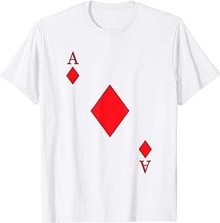 Ace Of Diamonds Costume Shirt - Funny Halloween Gift Tshirt T-Shirt