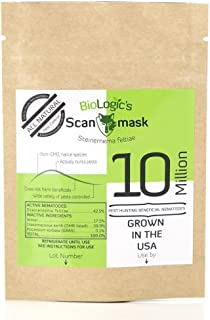 BioLogic Scanmask Steinernema Feltiae (Sf) Beneficial Nematodes for Natural Insect Pest Control, 10 Million Size