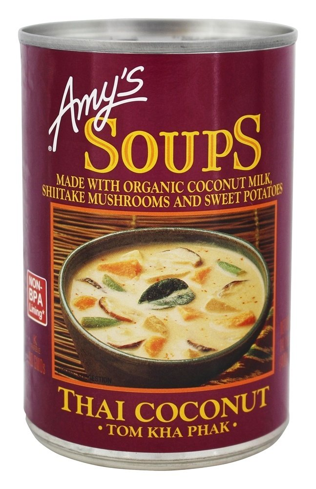 Amys Soup Thai Free shipping Max 45% OFF New Coconut 14.1 60 of OZ Pack