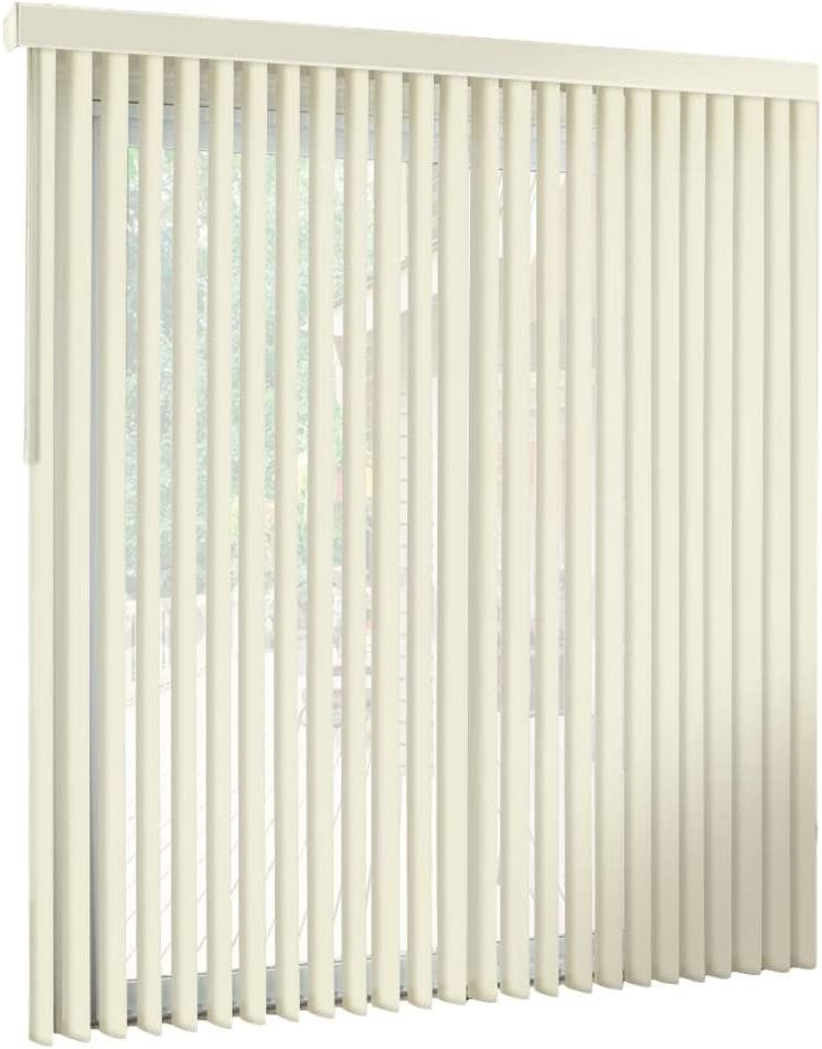 We OFFer at cheap prices Spotblinds Off White-Cordless-Custom-Made Premium Regular dealer PVC Vertical
