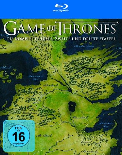 Game of Thrones Staffel 1 - 3 (exklusiv bei Amazon.de) [Blu-ray]