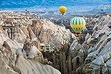 Cappadocia, Turkey - Hot Air Balloons 84570 (12x18 Signed Print Master Art Print - Wall Decor Poster)