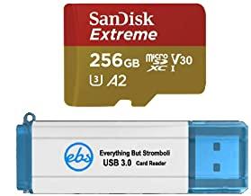 SanDisk 256GB Micro SDXC Memory Card Extreme Works with GoPro Hero 8 Black, GoPro Max 360 Action Camera U3 V30 4K Class 10...