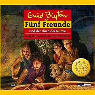 Fünf Freunde und der Fluch der Mumie     Fünf Freunde 50              Autor:                                                                                                                                 Enid Blyton                               Sprecher:                                                                                                                                 Rosemarie Fendel                      Spieldauer: 2 Std. und 6 Min.     41 Bewertungen     Gesamt 4,2