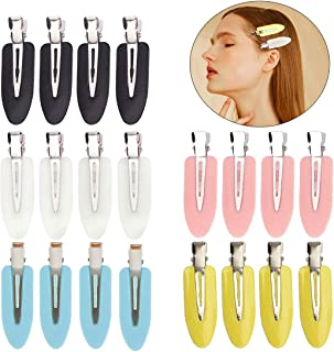 20 pieces No Bend Hair Clips, No Crease Hair Clips, Curl Pin Clips, Makeup Hair Clips for Hairstyle Makeup Application