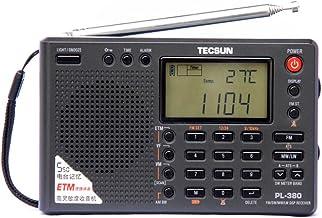 TECSUN PL-380 DSP FM Stereo. MW. SW. LW. World Band PLL Radio Receiver, LCD Display, ETM Function Added