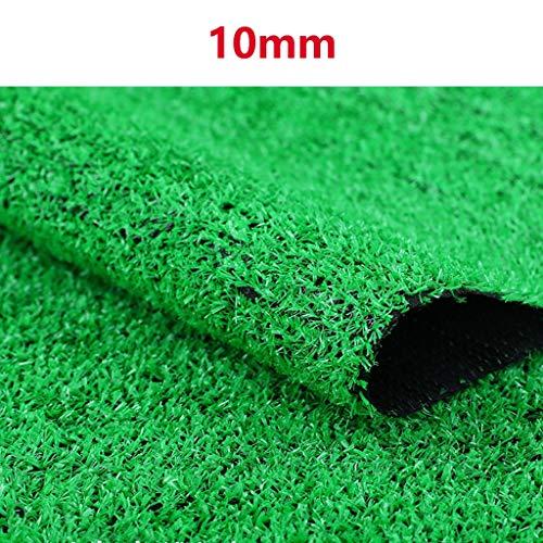 YNGJUEN 10 mm Kunstrasens gefälschte Plastik Rasen Kunstrasen Baumschule Dachterrasse for die Außenwand dekorativen Teppichschoner (Size : 2mx6m)