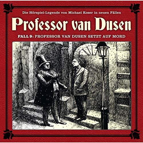『Professor van Dusen setzt auf Mord』のカバーアート