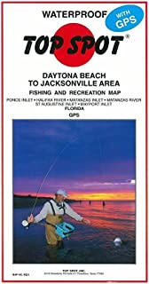 Top Spot Fishing Map from New Smyrna to Jacksonville