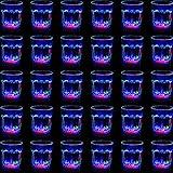 30 Pezzi Confezione Bicchieri Illuminati Vetro a LED Bicchieri per Accendere Flash LED Bicchieri da Bar Night Club Bicchieri a LED Multicolore per Compleanni Matrimoni Eventi Sportivi Bar al Coperto