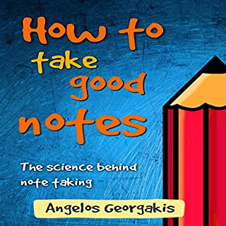 How to Take Good Notes audiobook cover art