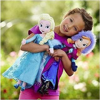 Texasstore Snow Queen Elsa Stuffed Doll Princess Anna Elsa Doll Toys Stuffed Plush Kids Toys Gift 40CM (Anna)