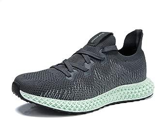 8HAOWENJU Men's Walking Shoes, Lightweight Sports, Casual Running, Tennis Shoes, Fashion Shoes,Black, Gray, White