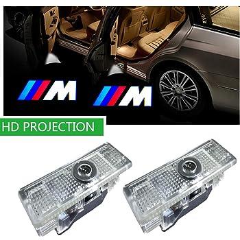 Luz LED de bienvenida para puerta de coche con logotipo HD y luces ...