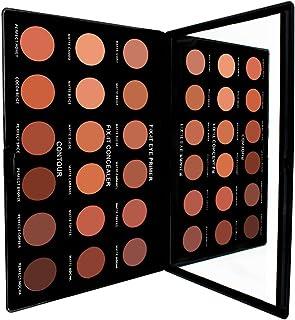 Concealer/Primer/Contour Kit, Professional Long Lasting Full Coverage Concealer/Eye Primer/Contour Combination Face Makeup...