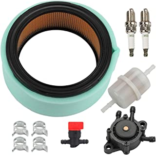 Panari 24 083 03-S Air Filter + 24 393 16-S Fuel Pump Repower Kit for Kohler CV730 CV23 CV25 CH18 CH20 CH22 CH25 CH23 CH730 CH740 CH640 CH680 ECH749 ECH730 18HP-25HP OHV Engine