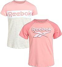 Reebok Girls Athletic Twist Front Fashion T-Shirt (2 Pack)