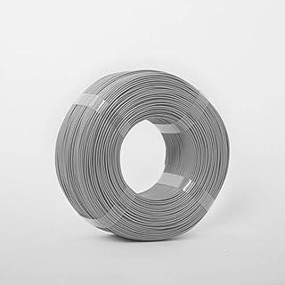 Standard Print Co. ABS 3D Printer Filament, 1.75mm, Grey, 1kg Spool-Less Filament Refill
