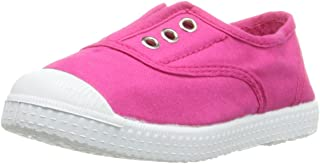 Kid's 70997 Canvas Slip on Laceless Sneaker for Girls and Boys